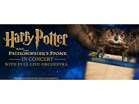 Harry Potter and the philosophers stone in concert tickets x2