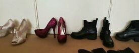£4 each, size 7 heals and size 6 boots.