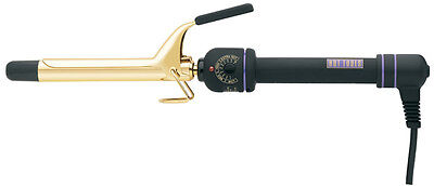 Hot Tools 1101 Professional Gold Spring Curling Iron Multi Heat Control  3/4""