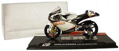 Ixo/altaya Alt41 Aprilia Rsw 250 2004 - Alex De Angelis 1/24 Scale