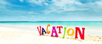 Are you going on vacation?