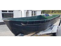 aluminium boat (ex army)