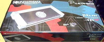 Soundstream Px2.580 580w Rms, Picasso Series 2-channel Car Audio Amplifier