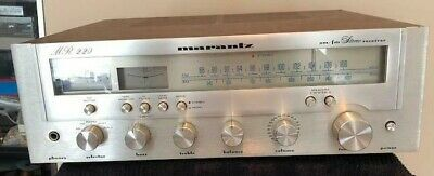 Marantz MR220 Vintage Stereo am/fm Receiver, Overall Good Cond