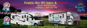 CLASS C MOTORHOME and TRAILER RENTALS