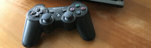 PS3 Dual shock controller and wireless charging station