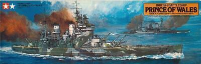 Tamiya British Battleship Prince of Wales 1/350 Scale Kit 78011