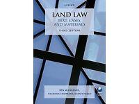 Land Law Text, Cases, and Materials Paperback 3/e Ben McFarlane, Nicholas Hopkins, Sarah Nield