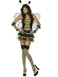 BUMBLE BEE FANCY DRESS OUTFIT SIZE 12/14 GREAT FOR PARTY OR HEN DO