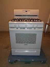 White GE GAS STOVES $525 - $550 / and more in Stock / Used Appliance SALE! 9267 - 50 Street