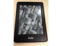 """Kindle Paperwhite E-reader 6"""" screen in mint condition complete with box and lead and paperwork"""