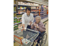 WANTED HADDINGTON - mature individual to shop for elderly person in Haddington (x1 PW)