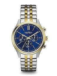 Caravelle New York Men's Quartz Stainless Steel Dress Watch 45A131