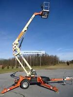 2010 JLG TOW-ABLE BOOM 36' GREAT SHAPE STARTING AT $12,500