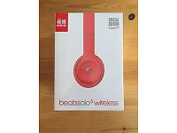 beats by Dr. Dre Solo 3 Wireless On-Ear Headphones limited edition - Red