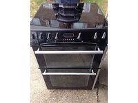 BLACK BELLING 60CM ELECTRIC COOKER, 4 MONTHS WARRANTY, FREE LOCAL DELIVERY