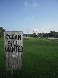 Wanted:Clean fill wanted (Glen Roy / Apple Hill area)