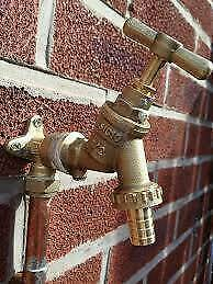 Outdoor Tap - Garden Tap Supplied And Fitted From £80, Warm Or Cold Water