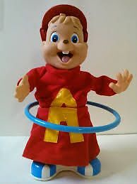 Alvin The Chipmunk Hula Hoop Singing/Dancing Doll