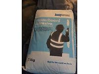 2 25kg bags Knauf Plasterboard Adhesive