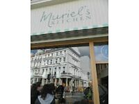 Muriel's Kitchen South Kensington is recruiting experienced Counter Server