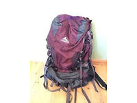 Gregory DEVA 60L Women's backpack, hardly used, Size M - £50