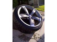 "Audi rotar wheels 18"" 5x100"