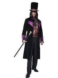 GOTHIC COUNT OUTFIT ITS JUST THE VELVET JACKET AND HAT SIZE M GREAT FOR PARTY