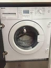 Hotpoint intergrated washing machine
