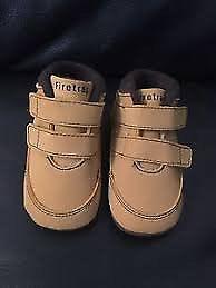 New Boys Firetrap Boots size 4UK Junior Honey Colour