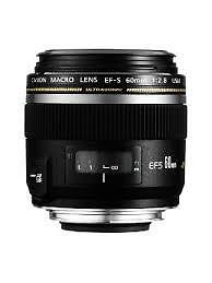Canon EFS 60 prime lens