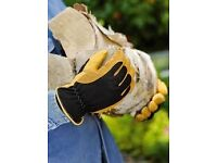 GOLD LEAF WINTER TOUCH THERMAL WATERPROOF GARDEN GLOVES