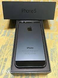 16 GB Apple iPhone 5 Black, Brand New, Unlocked  CALL   647-875-7109