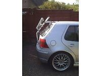 Genuine Fiamma Mk4 VW Golf bike rack ~ holds two bicycles