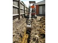Digger Excavator Hire with Operator All areas covered Tel: 07568 441277
