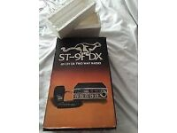Stalker 9F-DX CB Radio Boxed and in Mint Original Condition, Very Rare Item