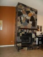 granite mosiacs/flooring/fireplaces/showers/walls