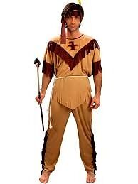 WILD WEST INDIAN GREAT FOR FANCY DRESS PARTY OR STAG DO SIZE M BY SMIFFYS
