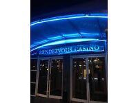 Kitchen Porter(Full-Time £7.20p/h) at The Rendezvous Casino - To Start Immediately