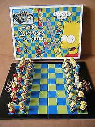 Simpson's 3d chess set