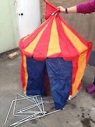 Circus play tent