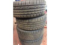 """WINTER TYRES AND ALLOYS FOR SALE FOR ALL RENAULTS (17"""" , 16"""", 14"""" ETC PRICES VARY) 0121 707 7771"""