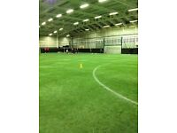 Indoor 7 a side Football 4g grass indoor Crystal Palace