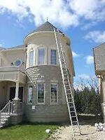 Window,Eavestrough & Yard cleaning,Christmas Lights,Snow Removal