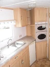 Contractor Accommodation Luxury 8 Berth 3 bed Static Double Glazed & Heated Sited Tunstall, E Yorks
