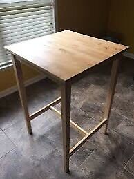IKEA bar table and 2 chairs