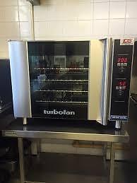 NEW TURBO FAN MOISTURE INJECTION OVEN - STOREYS RESTAURANT EQUIPMENT - UPCOMING AUCTIONS FEATURING NEW EQUIPMENT