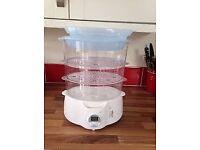 Brand New Digital Food Steamer By Tesco Model - 3TDS008