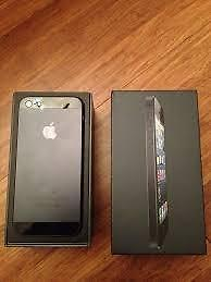 16 GB Apple iPhone 5 Black, Brand New, Bell, Virgin Mobile  CALL   647-875-7109