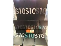**MEGA OFFER**SAMSUNG GALAXY S10 UNLOCKED BOXED COMES WITH WARRANTY & RECEIPT